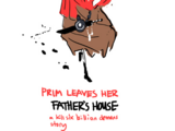 Prim Leaves Her Father's House