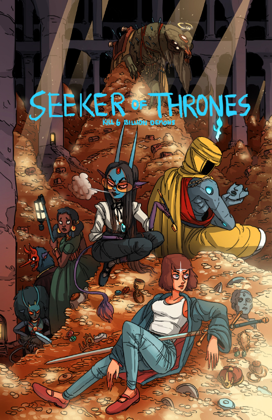 Book Three : Seeker of Thrones