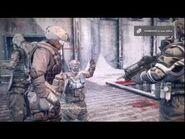Killzone 3 Beta - Operations All Cutscene (Frozen Dam) -HD-