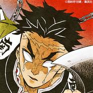Gyomei colored profile 2