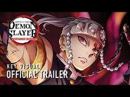 Demon Slayer- Kimetsu no Yaiba Entertainment District Arc Key Visual Trailer
