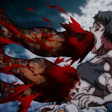 Kibutsuji's curse affects Susamaru.png