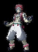 Akaza visual Hinokami Chronicles