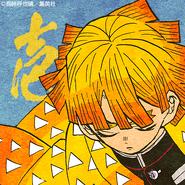 Zenitsu colored profile 5