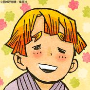 Zenitsu colored profile 9