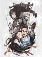 Kyoudai no Kizuna plakat filmu