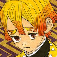Zenitsu colored profile