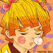 Zenitsu colored profile 8