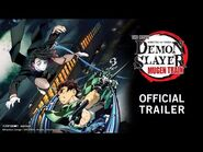 Demon Slayer -Kimetsu no Yaiba- The Movie- Mugen Train English Dub Trailer