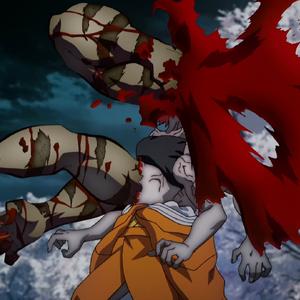 Kibutsuji's curse killing Susamaru.png
