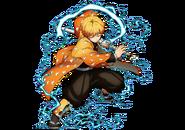Zenitsu visual Hinokami Chronicles