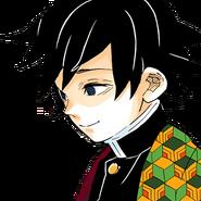 Giyu profile (short hair colored)