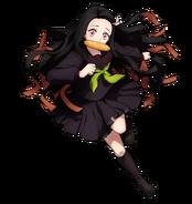 Nezuko (Kimetsu Academy) visual Hinokami Chronicles
