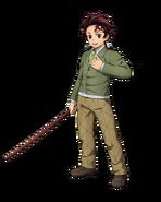 Tanjiro (Kimetsu Academy) visual Hinokami Chronicles