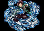 Tanjiro visual Hinokami Chronicles