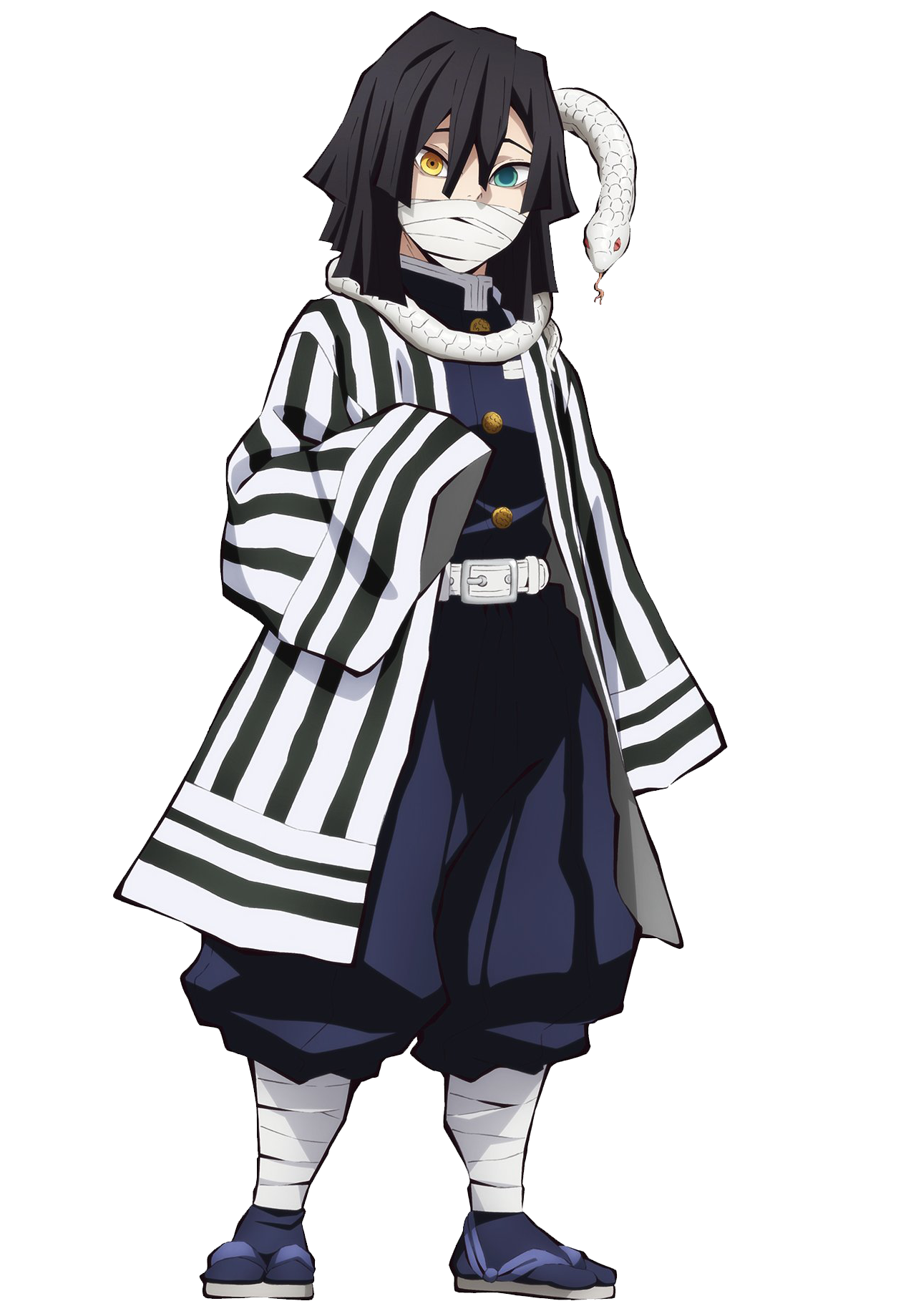 Obanai Iguro Kimetsu No Yaiba Wiki Fandom He is also a demon slayer, and the sound hashira (音 (おと) 柱 (ばしら) oto bashira?) of the demon slayer corps. obanai iguro kimetsu no yaiba wiki