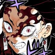 Tanjiro colored profile (Demon)