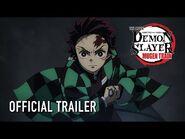 Demon Slayer -Kimetsu no Yaiba- The Movie- Mugen Train In Theaters April 23 + On Digital June 22