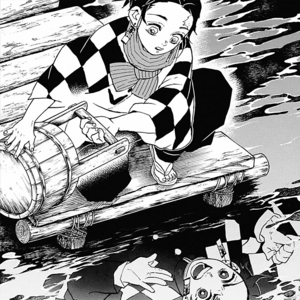 Tanjiro's subconscious trying to wake him up CH56.png