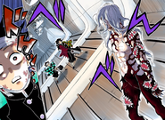 Tanjiro and Giyu finally meet Muzan