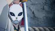 Sabito takes Tanjiro