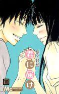 Kimi ni Todoke Manga v10 cover jp