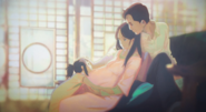 Futaba pregnant with Yotsuha