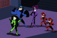 Shego and her brothers
