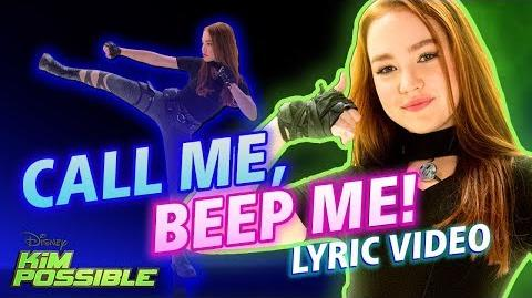 Call Me, Beep Me! Lyric Video Kim Possible Disney Channel Original Movie