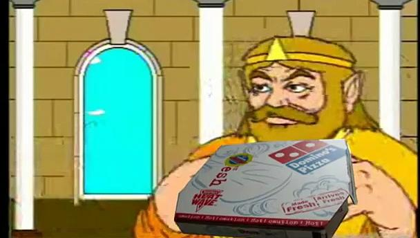 Youtube Poop King wants Pizza, and suffers a heart attack