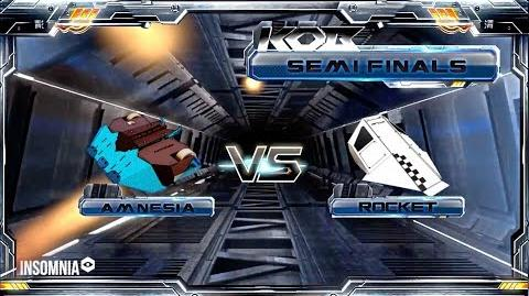 ROCKET v AMNESIA Semi Final 1 KING OF BOTS 2018