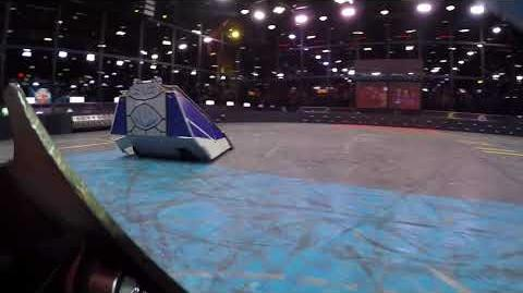 Vulcan Vs Saber - King of Bots 1st Round - Onboard Camera