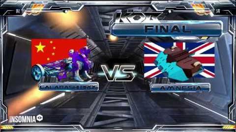 AMNESIA v CALABASHI BROS Final KING OF BOTS 2018