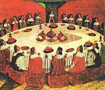 The Round Table Quondam Et Futurus, Why Was The Round Table Round