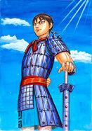 Shin the Monsterous Swordsman of the Hi Shin Unit Kingdom
