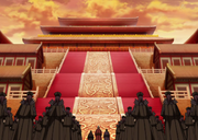 Three Great Families Of Qin With The Eunuchs Arrives In Front Of The Throne Room anime S2.PNG