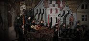Charles IV funeral