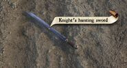 Knight's hunting sword