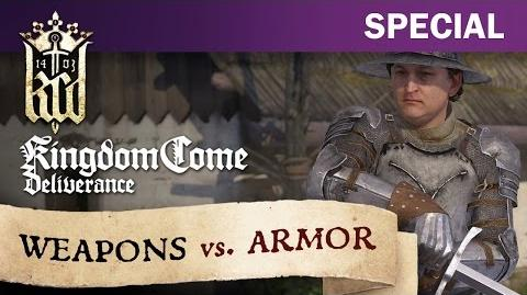 Kingdom Come Deliverance - Weapons vs