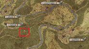 Traffic cone map location