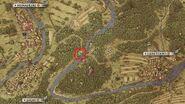 Treasure map i map location
