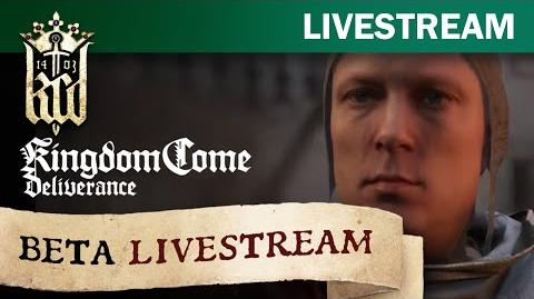 Kingdom Come Deliverance - Beta livestream