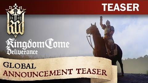 Kingdom Come Deliverance – Global Announcement Teaser