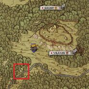 Dab skeleton map location