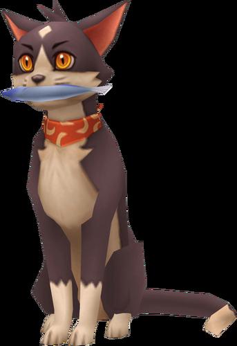 Chiro die Katze von der Frau des Süßigkeitenladen