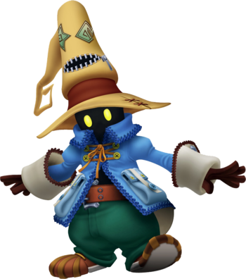 Vivi in Kingdom Hearts II