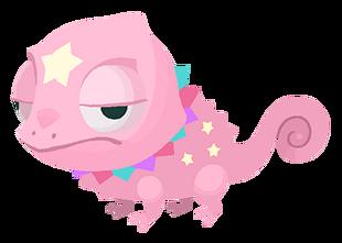 Ein Rosa farbiger Chameleostar Traumfänger in Kingdom Hearts Union χ