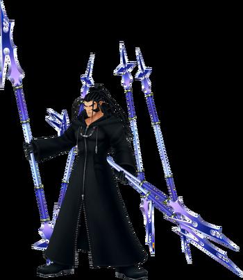 Xaldin in Kingdom Hearts II