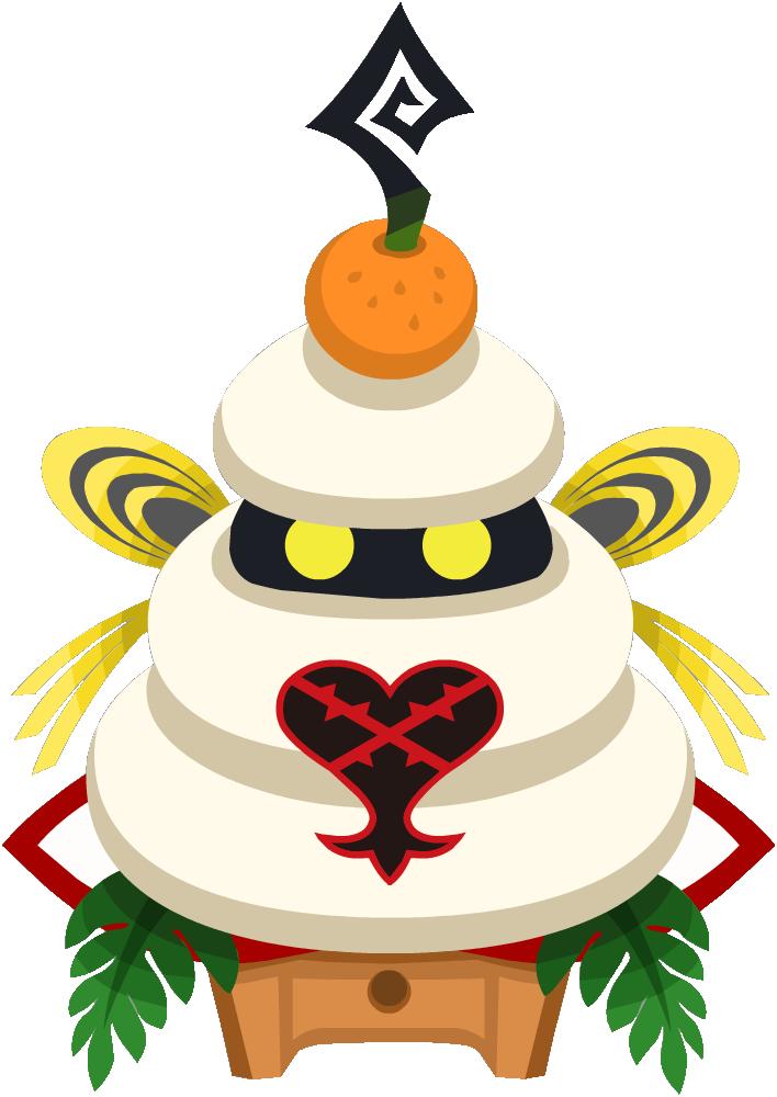 Round Rice Cake