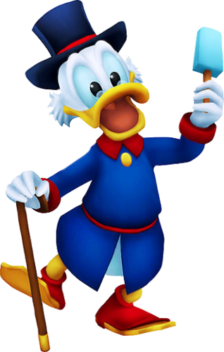 Dagobert Duck in Kingdom Hearts II